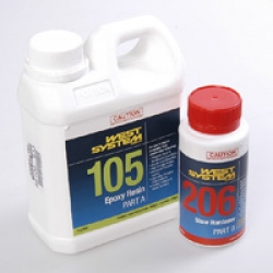 West System Epoxy 1.2 litre kit