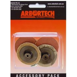 Arbortech Mini-Sanders 120 Grit 4 Pack - MIN.FG.011