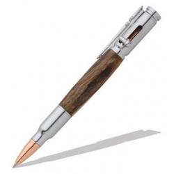 30 Caliber Bolt Action Chrome Bullet Pen Kit