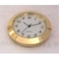Clock 40 Gold Arabic White Face