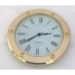 Clock 55 mm Gold Roman