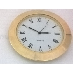 Clock 58 mm Gold Roman