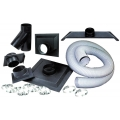 Dust Collection Hose and Fittings Kit