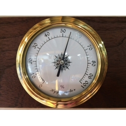 Flush Mount Hygrometer 98mm