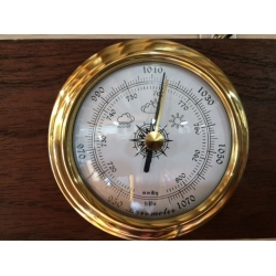 Flush Mount Barometer 98mm