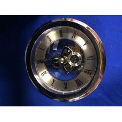 100mm Skeleton Clock Gold