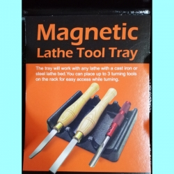 Magnetic Lathe tool tray