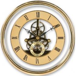 Skeleton clock Gold