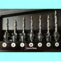 22 pce Tapered Drill Set