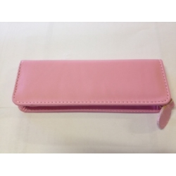 Pink Imitation leather Case